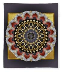 Circumplexical No 3484 Fleece Blanket