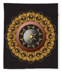 Circumplexical No 3488 Fleece Blanket