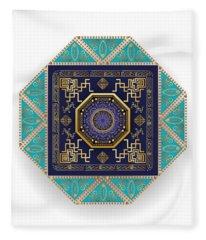 Circumplexical No 3556 Fleece Blanket