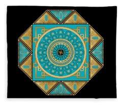 Circumplexical No 3557 Fleece Blanket
