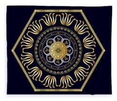 Circumplexical No 3607 Fleece Blanket