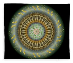 Circumplexical No 3674 Fleece Blanket