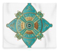 Circumplexical No 3695 Fleece Blanket