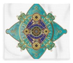 Circumplexical No 3698 Fleece Blanket