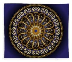 Circumplexical No 3716 Fleece Blanket