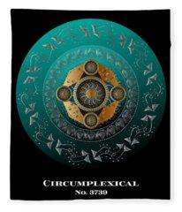 Circumplexical No 3739.1 Fleece Blanket