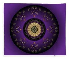 Circumplexical No 3817 Fleece Blanket