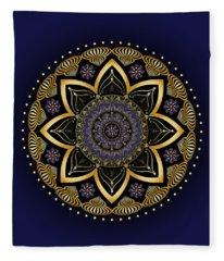 Circumplexical No 3991 Fleece Blanket