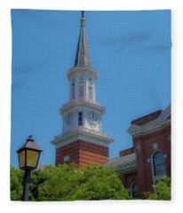 City Hall Fleece Blanket