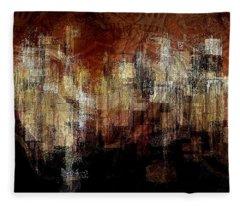 City On The Edge Fleece Blanket