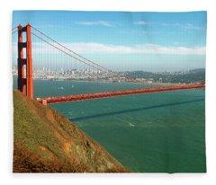 Classic Golden Gate Fleece Blanket