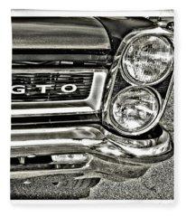 Classic Pontiac Fleece Blanket