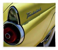 1955 Thunderbird Fleece Blanket