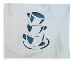 Clean Up Fleece Blanket