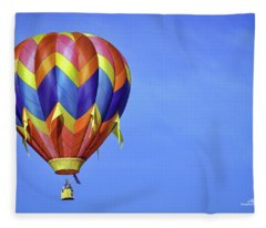 Clear Sailing Fleece Blanket