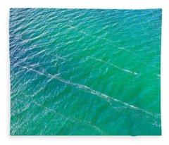 Clear Water Imagery  Fleece Blanket