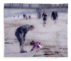 Clearwater Beachcombing Fleece Blanket