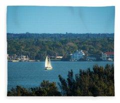 Clearwater Sails Fleece Blanket