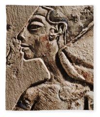 Cleopatra Fleece Blanket
