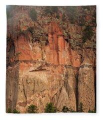 Cliff Face Fleece Blanket