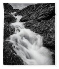 close to Ygnisdalselvi, Norway Fleece Blanket