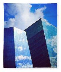 Cloud Relection Fleece Blanket
