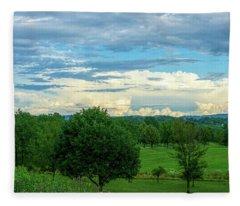 Cloud View Lehigh Valley Fleece Blanket