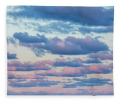 Clouds In The Sky Fleece Blanket