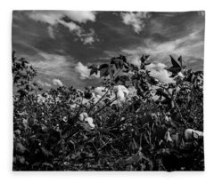 Clouds Of Cotton Fleece Blanket