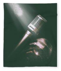 Club Karaoke Fleece Blanket