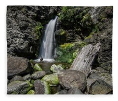 Coastal Falls Fleece Blanket