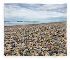 Coastal Treasures Fleece Blanket