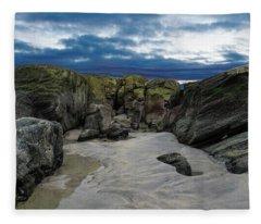 Coastline Castle Fleece Blanket
