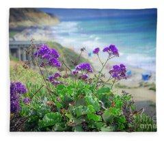 Coastline Color Fleece Blanket