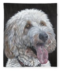Cockapoo Fleece Blanket
