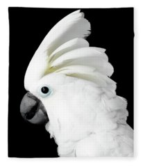 Cockatoo Alba Fleece Blanket