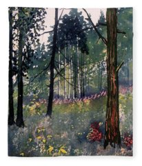 Codbeck Forest Fleece Blanket