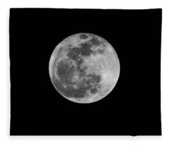 Full Cold Moon Fleece Blanket