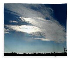 Collingwood's Clouds Fleece Blanket