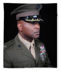 Colonel Trimble 1 Fleece Blanket