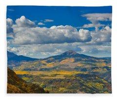 Colorado Fall Fleece Blanket