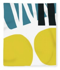 Colorful Bento 2-art By Linda Woods Fleece Blanket