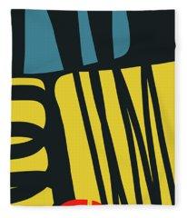Colorful Bento 4- Art By Linda Woods Fleece Blanket