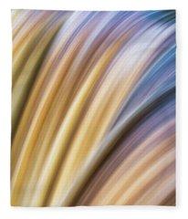 Colorful Flow Fleece Blanket