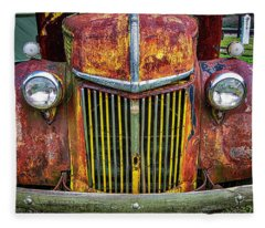 Colorful Ford Fleece Blanket