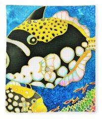 Colorful Tropics 18 Fleece Blanket