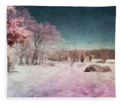 Colorful World Fleece Blanket