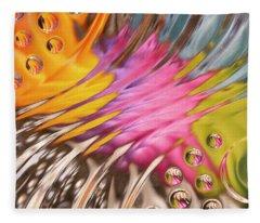 Colors In Vitro 2 Fleece Blanket
