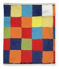 Colour Table, Qu 1 Fleece Blanket