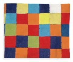 Colour Table, Qu Fleece Blanket